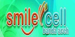 logo smile cell banda aceh